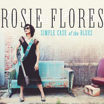 Flores ,Rosie - Simple Case Of Blues ( Ltd color lp )