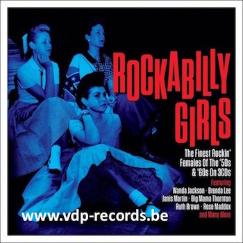 V.A. - Rockabilly Girls ( 3 cd's )