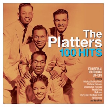 Platters ,The - 100 Hits ( 4 cd's )
