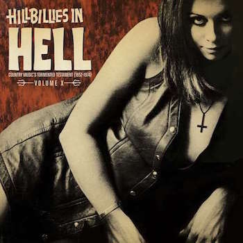 V.A. - Hillbillies In Hell : Country Music's .... 10 ( Ltd Lp )
