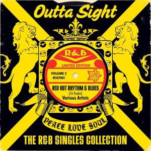 V.A. - Outta Sight : The R&B Singles Collection Vol 2 ( lp)
