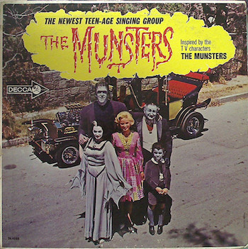 Munsters ,The - Inspired By The T.V. Characters ( Ltd Color Lp)