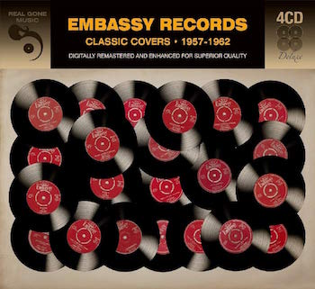 V.A. - Embassy Records : Classic Covers 1957-1962 (4cd's)