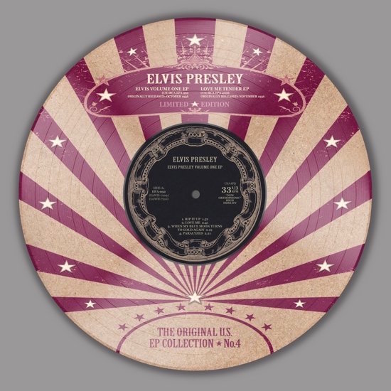 "Presley ,Elvis - The Original Ep Collection 4 ( 10"" pict disc )"