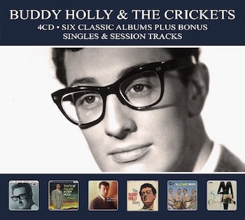 Holly ,Buddy - Six Classics Album + Bonus Tracks ( 4 cd's )