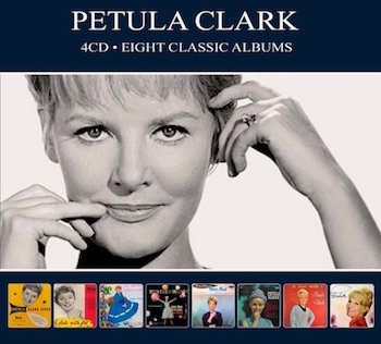 Clark ,Petula - Eight Classic Albums ( 4 cd's )