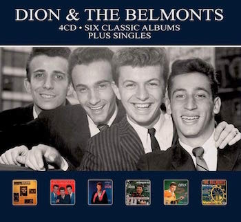 Dion & The Belmonts - Six Classic Albums Plus Singles ( 4cd's)