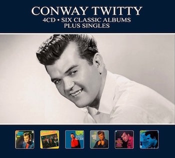Twitty , Conway - 6 Classic Album ...Plus Singles