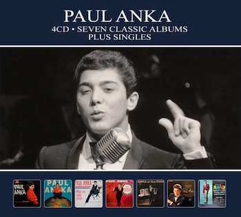 Anka ,Paul - Seven Classic Albums Plus Singles ( 4 cd's )