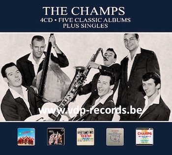 Champs ,The - 5 Classic Albums + Singles ( 4 cd's )