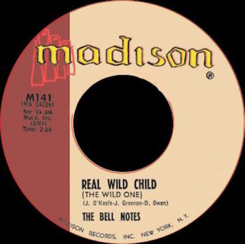 Bell Notes ,The - Real Wild Child + 1