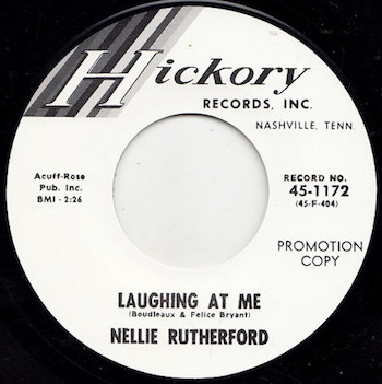 Rutherford ,Nellie - Laughing At Me / Turn Me On