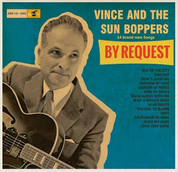 Vince And The Sunboppers - By Request ( cd )