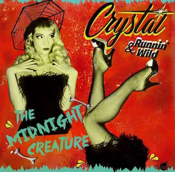 Crystal & Running Wild - The Midnight Creature ( cd)