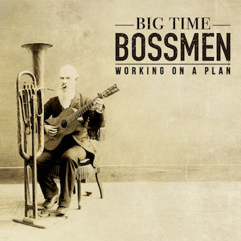 Big Time Blossmen - Working On A Plan ( cd)