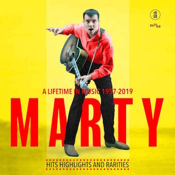 Wilde ,Marty - Marty : A Lifetime In Music 1957 - 2019 (4 cdbox)