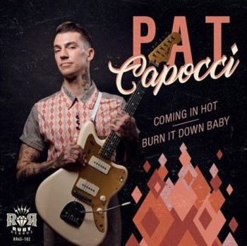 Capocci ,Pat - Comin' In Hot + 1 (ltd 45's )