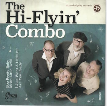 Hi-Flyin' Combo ,The - Bop Pretty Baby + 1