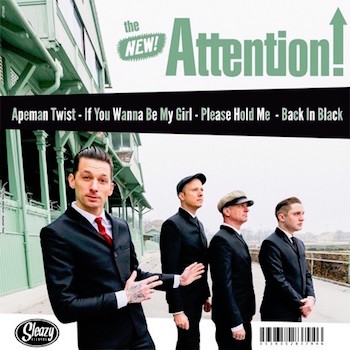 "King D And The Royals .../ The New Attention! - Split (Ltd 10"")"