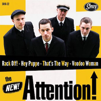 "Attention ,The / King D And The Royals Of Rhythm - ..( 10"" lp )"