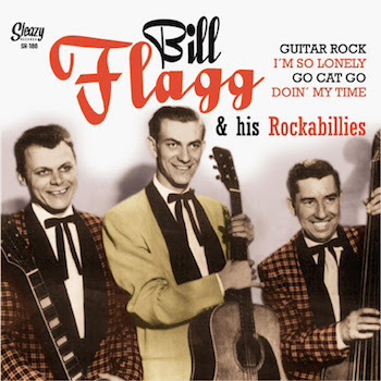 Flagg ,Bill & His Rockabillies - Guitar Rock + 3 ( ltd Ep )