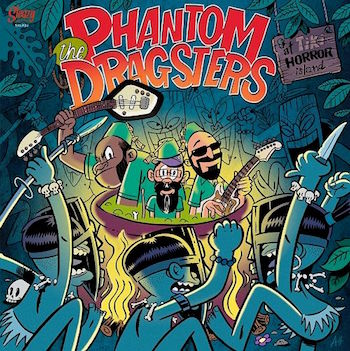 Phantom Dragsters ,The - At Tiki Horror Island ( lp )