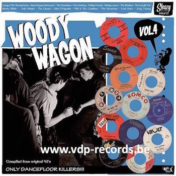 V.A. - Woody Wagon Vol 4 ( Ltd Lp )