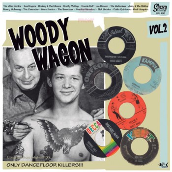 V.A. - Woody Wagon Vol 2 ( lp )