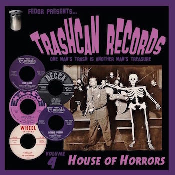 "V.A. - Trashcan Records Vol 4 : House Of Horrors ( Ltd 10"" Lp)"