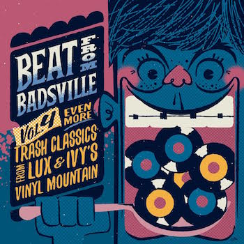 V.A. - Beats From Badsville : Even More Trash..Vol 4 ( cd )