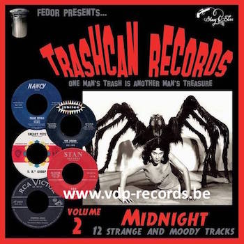"V.A. - Trashcan Records Vol 2 : Midnight (Ltd 10"" )"