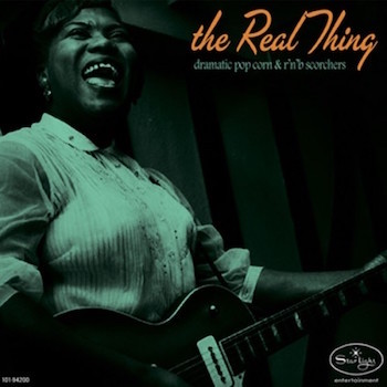 V.A. - The Real Thing : Dramatic Popcorn & R&B ..( ltd lp )