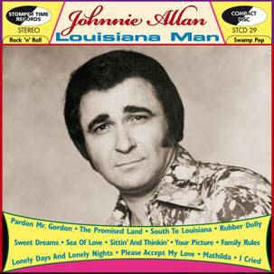 Allan ,Johnnie - Louisiana Man