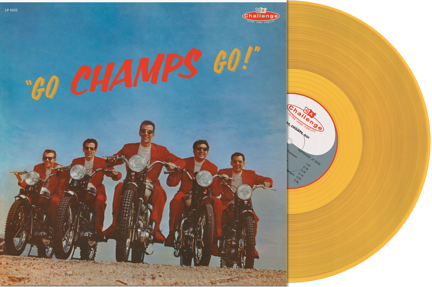 Champs ,The - Go Champs Go ( Ltd Color )