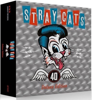 Stray Cats ,The - 40 : Ltd Deluxe Cd Box With 2 Bonus Tracks