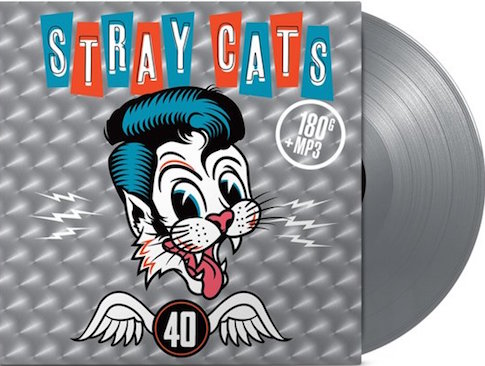 Stray Cats ,The - 40 ( Ltd Color Vinyl Gatefold Sleeve )