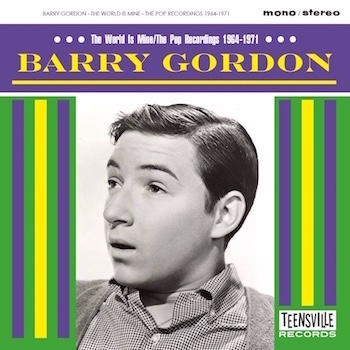Gordon ,Barry - The World Is Mine -The Pop Recordings 1964-71