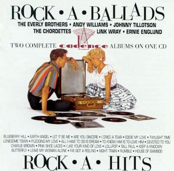V.A. - 2on1 Rock-A-Ballads / Rock A Hits : Cadence Rec