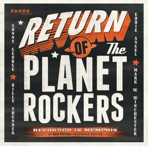Planet Rockers ,The - Return Of The Planet Rockers (lp)