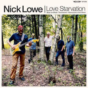 "Lowe ,Nick & Los Strait Jackets- Love Starvation +3( Ltd 12"" Ep)"